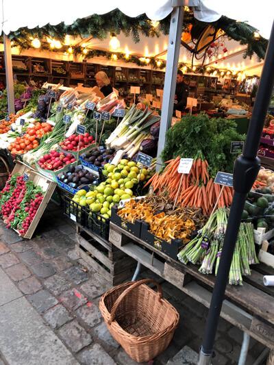 Fresh produce market-Dec shopping list-Slimming World blog
