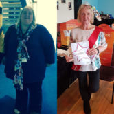 tracy before after-diabetes week-slimming world blog
