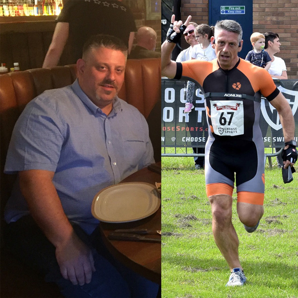 David Price before and after-2020 Body Magic-slimming world blog