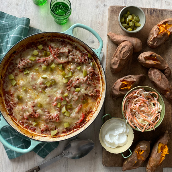 Sweet potato sloppy Joes-behind the scenes of Slimming World Magazine-slimming world blog